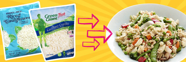 How to Use Store-Bought Cauliflower Rice in Recipes