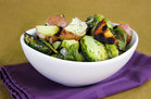 Hungry Girl's Healthy Hustle 'n Brussels Foil Pack Attack Recipe