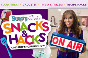 Hungry Girl's Snacks & Hacks One Stop Shopping Show