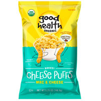 Good Health Organic Baked! Cheese Puffs in Mac & Cheese