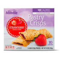 Millville Pastry Crisps in Strawberry