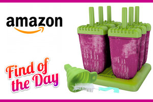 Mamasicles Popsicle Molds with Sticks Ice Pop Maker