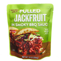 Trader Joe's Pulled Jackfruit in Smoky BBQ Sauce