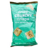 Trader Joe's Crisp Crunchy Crisps Pea & Chickpea Snacks