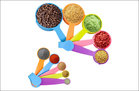 NUOSEM Measuring Cups and Spoons Set
