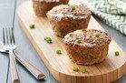 Jumbo Teriyaki Meatloaf Muffins