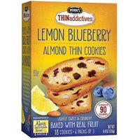 Nonni's THINaddictives Lemon Blueberry Almond Thin Cookies