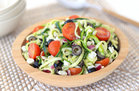 """Hungry Girl's Healthy Zucchini-Noodle """"Pasta"""" Salad Recipe"""