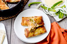 Hungry Girl's Healthy Air-Fryer Philly Cheesesteak Egg Rolls Recipe