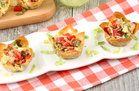 Hungry Girl's Healthy Best-Ever BLT Wonton Cups Recipe