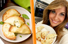 Hungry Girl's Healthy Air-Fryer White Pizza Dumplings Recipe