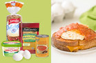 Hungry Girl's Healthy Grilled Cheese Eggs Benedict Recipe