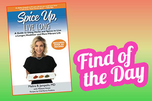 Spice Up, Live Long (New Book Alert!)