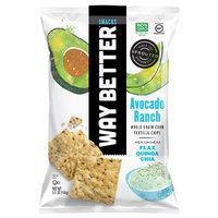 Way Better Snacks Avocado Ranch Whole Grain Corn Tortilla Chips