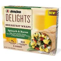 Jimmy Dean Delights Breakfast Wraps in Spinach & Bacon
