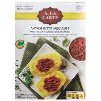 A La Carte Spaghetti Squash with Plant Based Bolognese