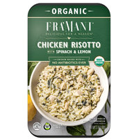 Organic Fra' Mani Chicken Risotto with Spinach & Lemon