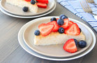 Hungry Girl's Healthy Red, White & Blue Cheesecake Recipe