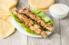 Hungry Girl's Healthy Yogurt-Marinated Grilled Chicken Skewers Recipe