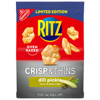 RITZ Oven Baked Crisp & Thins in Dill Pickle