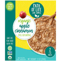 Path of Life Organic Apple Cinnamon Steel Cut Oatmeal