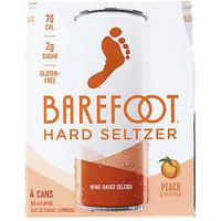 Barefoot Hard Wine-Based Seltzer in Peach & Nectarine