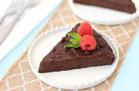 Hungry Girl's Healthy Fudgy Flourless Chocolate Cake Recipe
