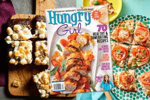 The Fall 2021 Issue of Hungry Girl Magazine