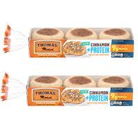 Thomas's English Muffins Cinnamon + Protein