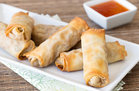 Hungry Girl's Healthy EZ Baked Egg Rolls Recipe