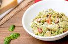 Hungry Girl's Healthy Creamy Pesto Chicken Skillet Recipe