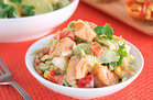 Summer-Perfect Grill Recipes: Grilled Shrimp & Avocado Slaw