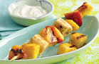 Summer-Perfect Grill Recipes: Grilled Juicy Fruit Kebabs & Dip