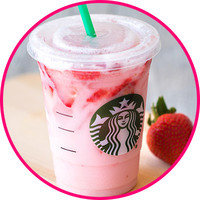 Starbucks Drinks with 100 Cals or Less: Pink Drink