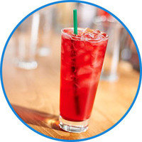 Starbucks Drinks with 100 Cals or Less: Teavana Shaken Iced Passion Tango Tea (Unsweetened)