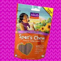 Worth Ordering Online: Halo Purely for Pets Yummy Pumpkin Flavor Spot's Chew