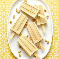 Hungry Girl's Peanut Butter Banana Fro Yo Pops Recipe