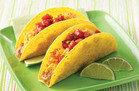 Breakfast Fiesta Crunchy Tacos