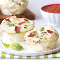 Make-Ahead Breakfast: Pizza Egg Bakes