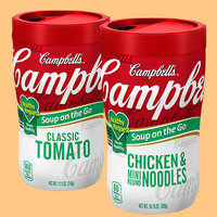Healthy On-the-Go Snacks: Campbell's Healthy Request Soup on the Go