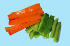 Healthy On-the-Go Snacks: bell pepper strips (1 cup)