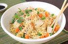 Cauliflower Fried Rice with Chicken
