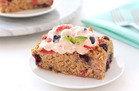 Blueberry Strawberry Oatmeal Bake
