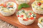 Roasted Veggie Egg Muffins