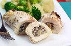 Creamy Mushroom Stuffed Chicken