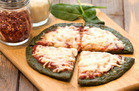 Spinach-Crust Pizza
