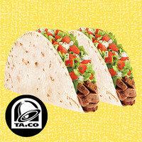 HG's Drive-Thru Meals Under 350 Calories: Taco Bell Fresco-Style Steak Soft Tacos