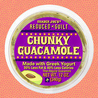 HG's Trader Joe's Food Finds: Reduced Guilt Chunky Guacamole