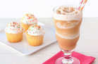 Creamy Blended Cupcake Coffee