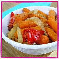 Hungry Girl's Healthy Potluck Recipes: Glaze-of-Glory Candied Carrots